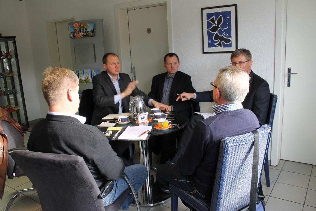 Techninės pagalbos susitikimas VBA Goldas